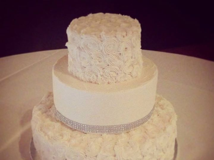Tmx 1464043834004 Rhinestonewedding Overland Park, KS wedding cake