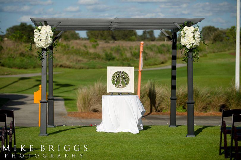 Outdoor wedding |  Mike Briggs