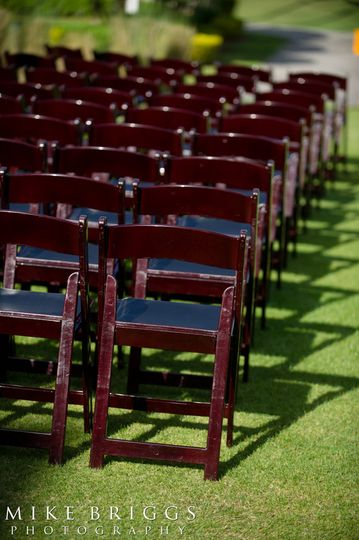 Red chairs | Mike Briggs