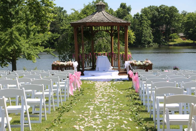 Gazebo wedding