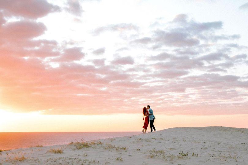 Engagement Shoot Sunset