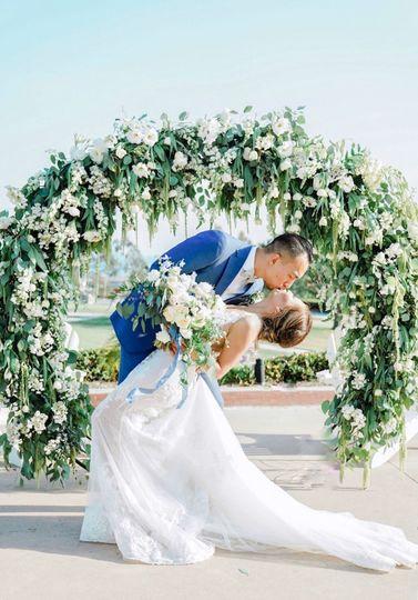 Ceremony round arch