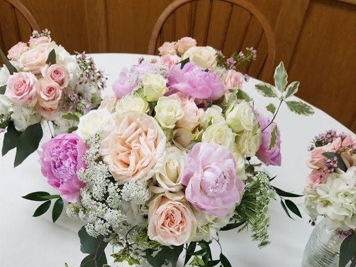 Tmx 1538596960 2d8633f82fefb2ee 1538596959 43d4cd1a97dab740 1538596955253 20 Blushbouquets1 Salamanca, New York wedding florist