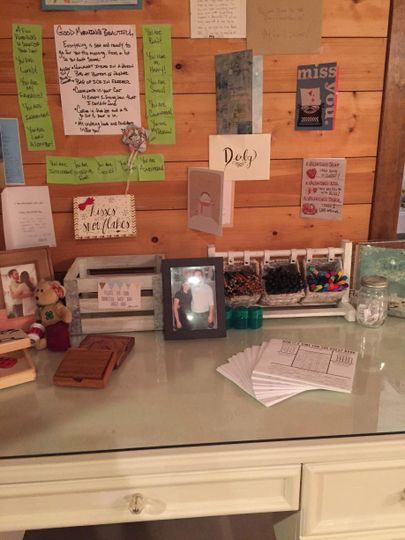 A fun and interactive guest book