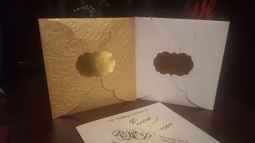 Envelope wedding invitation