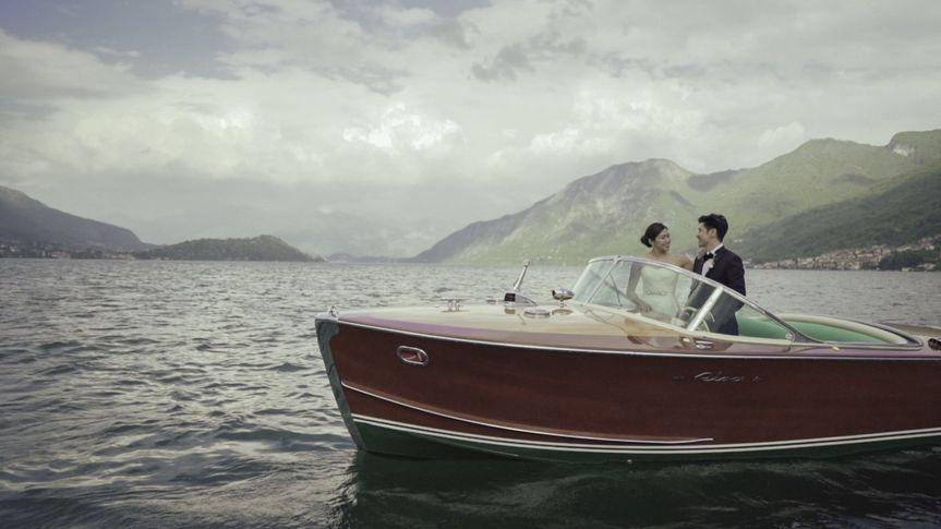 Riva Boat in Lake Como