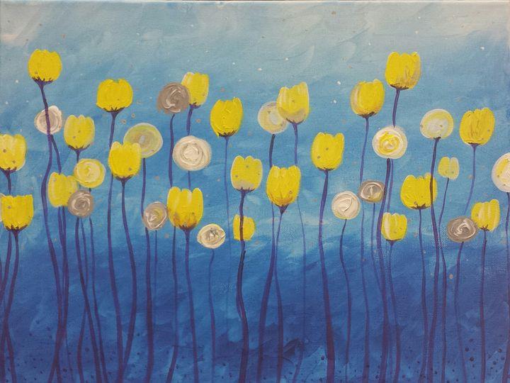 Tmx 1403742002992 Yellow Flowers On Blue Idaho Falls wedding favor