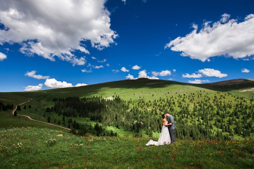 Wedding on the hill