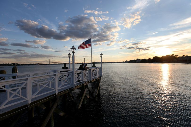 MDR Pier at sunset