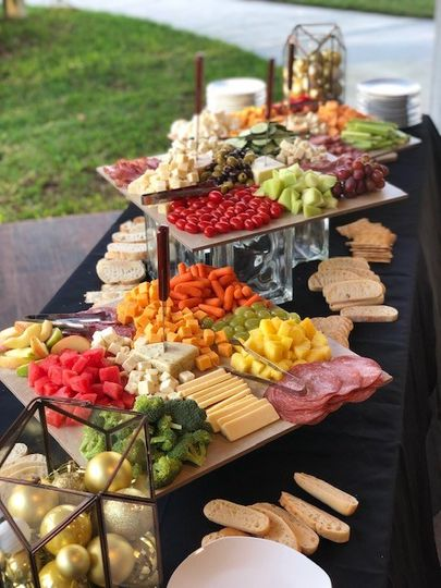 Antipasto display