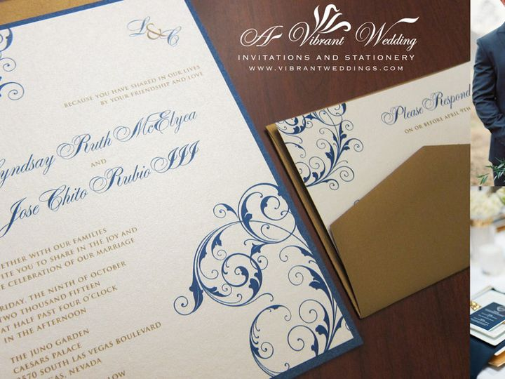 Tmx 1465496827541 Wednavygoldflatblog Chula Vista wedding invitation