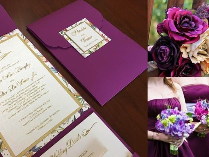 Tmx 1535122669 C837a99b6ea7a96c 1535122668 E5d54a26052a4005 1535122667685 4 IMG 7443 Chula Vista wedding invitation