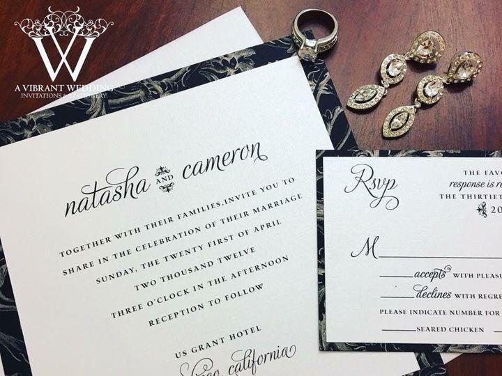 Tmx 1535122708 909f132faf059fac 1535122706 8c8a260c31d8c70a 1535122706724 6 IMG 7441 Chula Vista wedding invitation