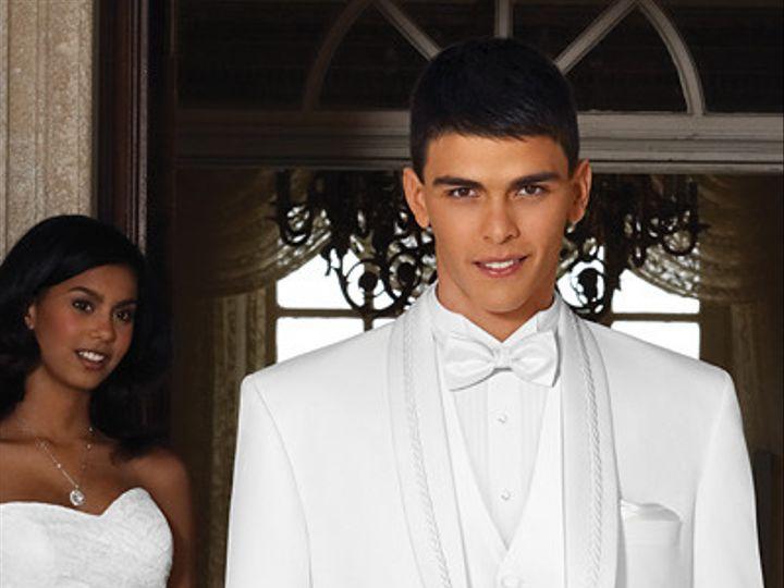 Tmx 1405446917650 El Rey White Tuxedo Tampa wedding dress