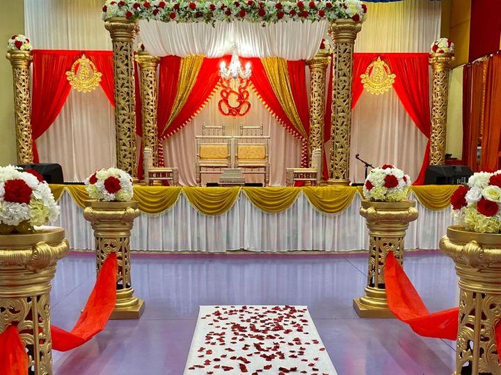 Tmx Carved Mandapfloating Celingchandlierasile Way 51 1061543 160523258243467 Towson, MD wedding eventproduction