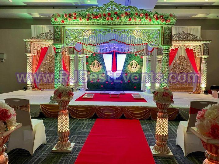 Tmx Lotus Mandap 51 1061543 161909659816714 Towson, MD wedding eventproduction