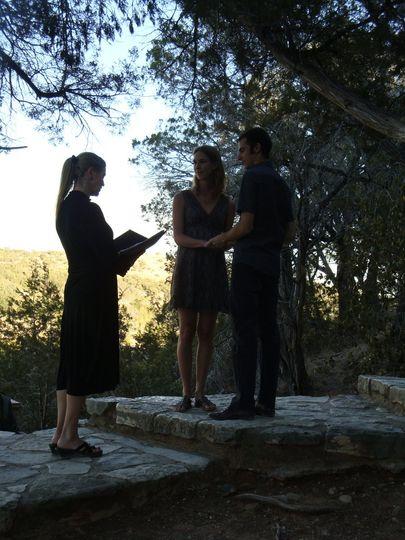 Pedernales State Park wedding