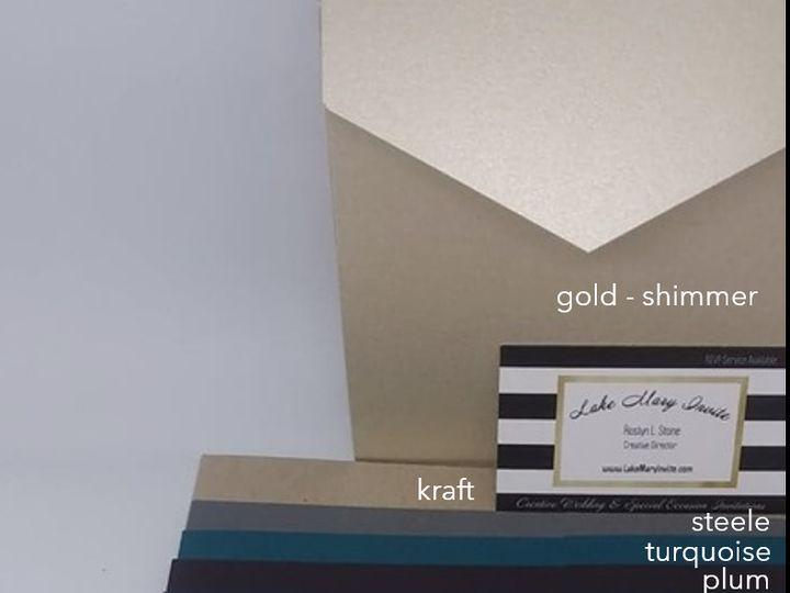 Tmx Arrow Collection Color List 51 1971543 160510065235411 Lake Mary, FL wedding invitation