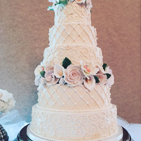 Choux Cake Studio Wedding Cake Jacksonville Fl Weddingwire