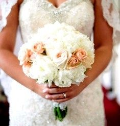 bride bouquet smaller