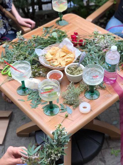 Margaritas and flower crowns