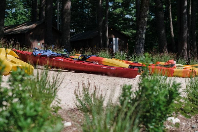 Kayaks for daytime adventures
