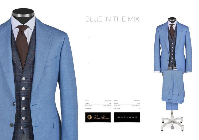 Peak Lapel 3 Piece Suit