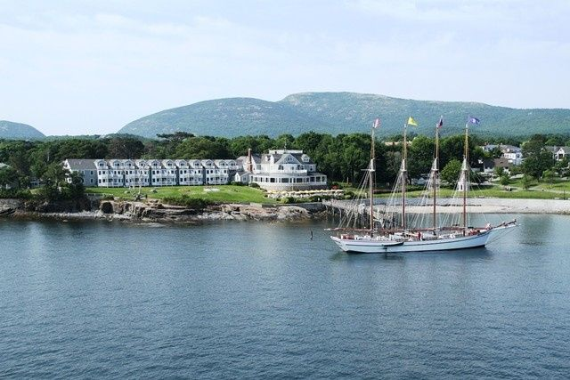 Exterior view of Bar Harbor Inn