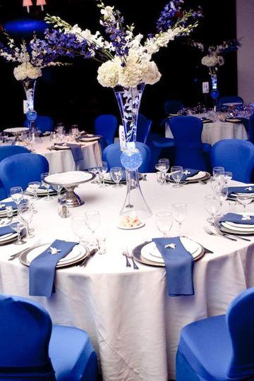 Blue Theme - Dinner