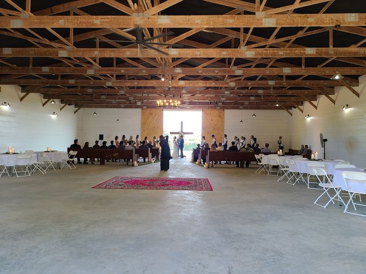 Ceremony and reception space
