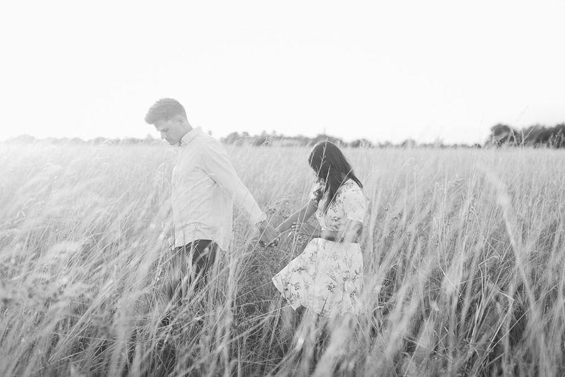 Vichiny & Hyrum Engagement photo session in West Houston, Katy, TX | Daria Ratliff wedding...
