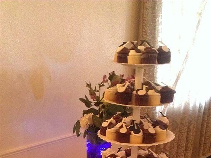 Tmx 1446409239526 Cupcake Wedding 2 Buffalo, NY wedding cake