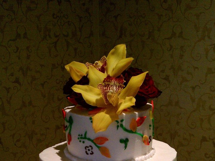 Tmx 1446409650308 21 Fall Leaves Buffalo, NY wedding cake