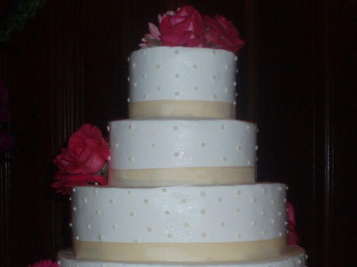 Tmx 1446409698794 24 Swiss Dots Buffalo, NY wedding cake