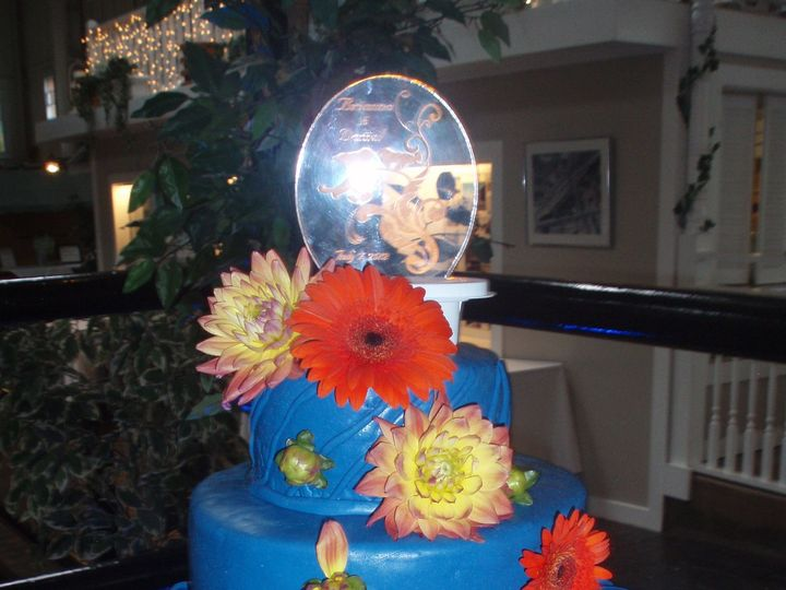 Tmx 1446409730123 26 Royal Blue Buffalo, NY wedding cake