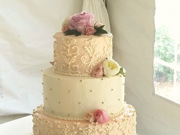Tmx 1498682556547 Img20170513174924895edited Raleigh wedding cake