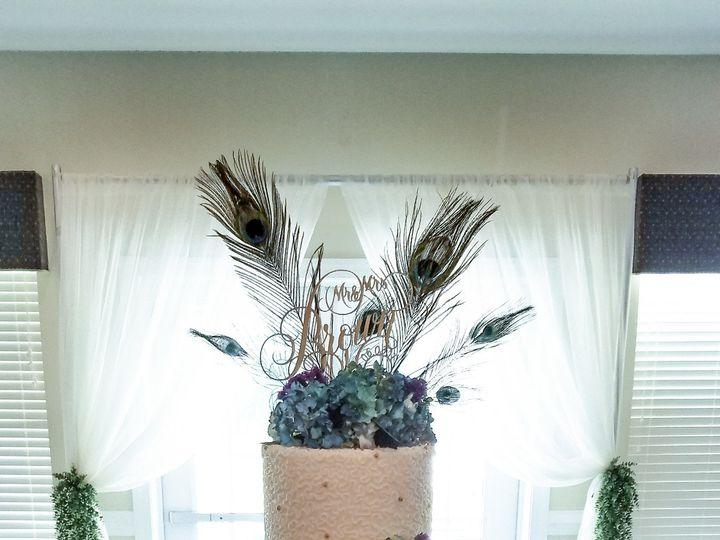 Tmx 1498682575713 Peacock Cake Raleigh wedding cake