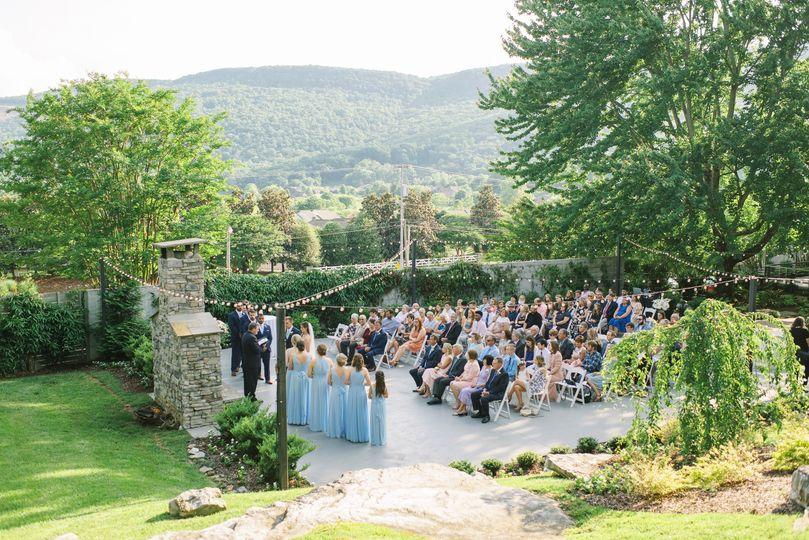 Garden reception