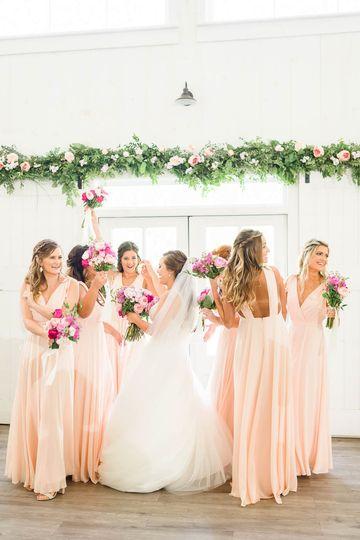 Peony pink wedding