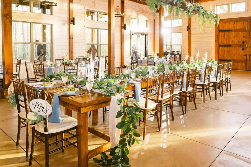 Rustic elegant reception