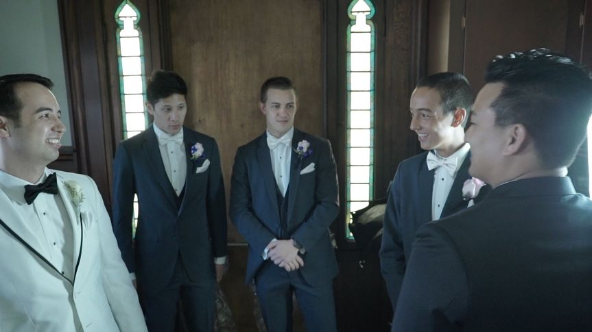 jason and groomsmen still frame