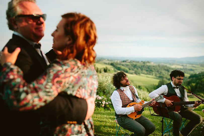 Wedding music in Italy
