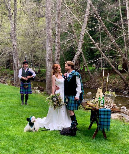 Big Sur Highland Wedding