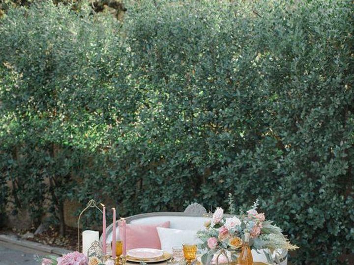 Tmx Albatross Ridge Sweetheart Table Vintage Rentals Dusty Rose 51 1899543 161069352791247 Carmel By The Sea, CA wedding rental