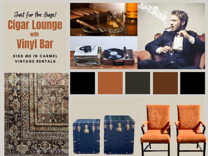 Tmx Cigar Lounge Cognac Colors 51 1899543 158978255472280 Carmel By The Sea, CA wedding rental