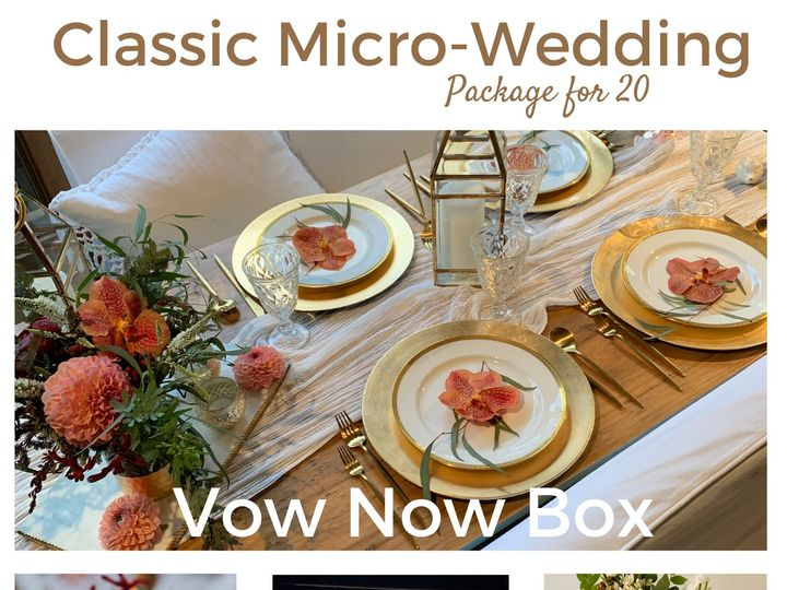 Tmx Classic Micro Wedding Vow Now Box Page 1 51 1899543 159254578348641 Carmel By The Sea, CA wedding rental