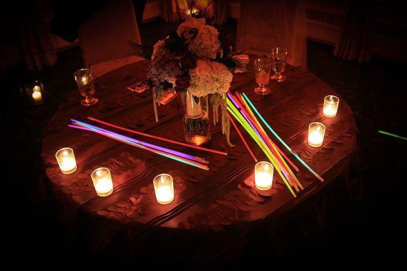 Wedding glow in the dark stick