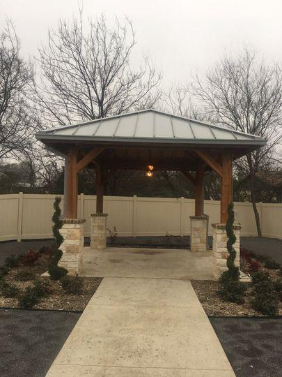 Outside Wedding Pavilion