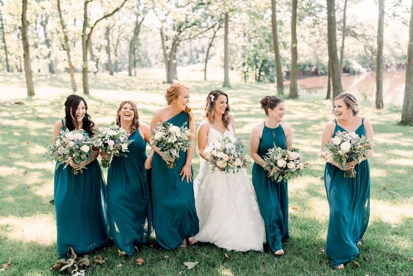 Bride and Bridal Party HMU