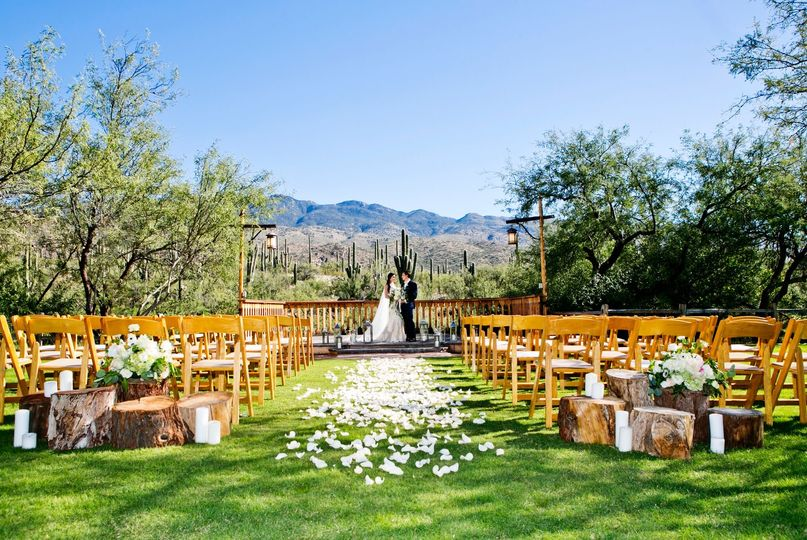 Cactus view ceremony
